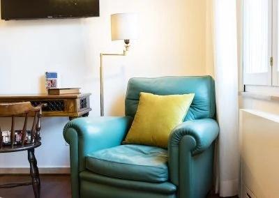 Stanza del Viaggiatore a Bologna in guest house di Bibliò Rooms