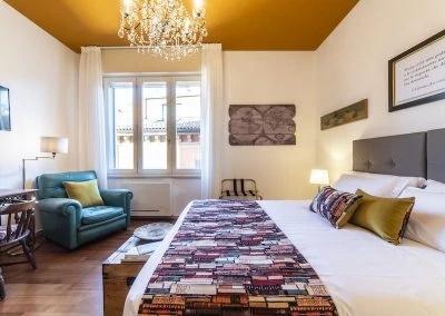 Stanza del Viaggiatore in guest house a Bologna di Bibliò Rooms
