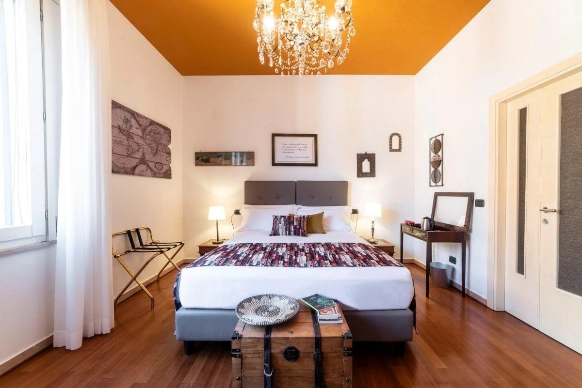 Letto Matrimoniale A Bologna.Stanza Del Viaggiatore Biblio Rooms Guesthouse Bologna